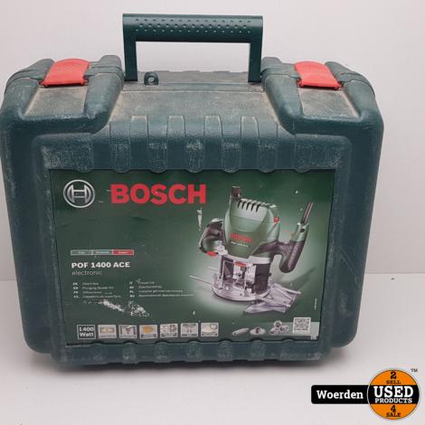 Bosch Groen POF 1400 ACE Bovenfrees 1400w met Garantie