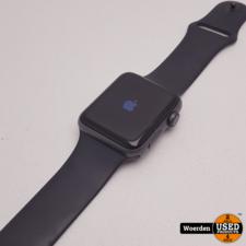 Apple Watch Series 3 42mm Space Grey met Garantie