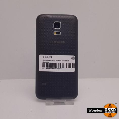 Samsung Galaxy S4 Mini Zwart Met Garantie