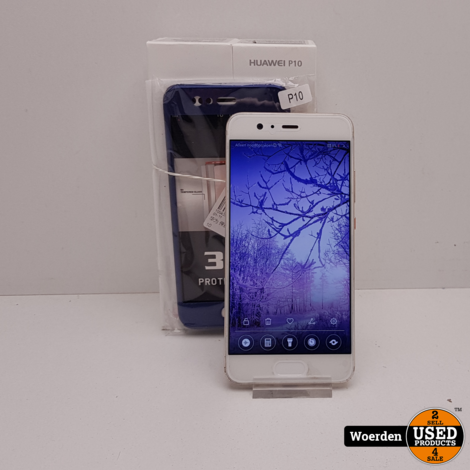 Huawei P10 64GB Goud in Nette Staat met Garantie