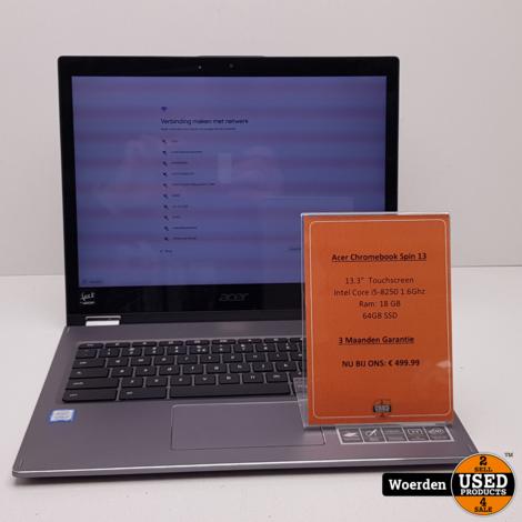 Acer Chromebook Spin 13 CP713-1WN-54GA i5 1.6Ghz|8GB|64GB