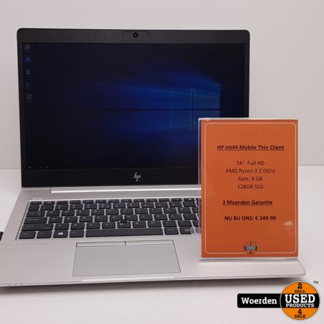 HP mt44 Mobile Thin Client AMDRyzen 3 2.0Ghz 8GB 128GB SSD