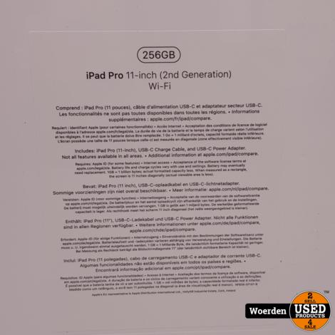 Apple iPad Pro 2020 11 inch 2nd Gen 256GB WiFi NIEUW in Seal
