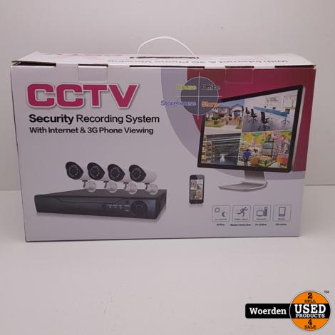 CCTV Camera Beveiligingssyteem NIEUW met Garantie