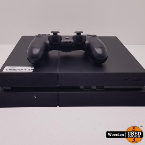Playstation 4 500GB incl Controller met Garantie