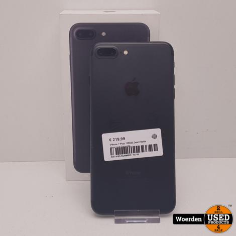 iPhone 7 Plus 128GB Zwart Nette Staat met Garantie