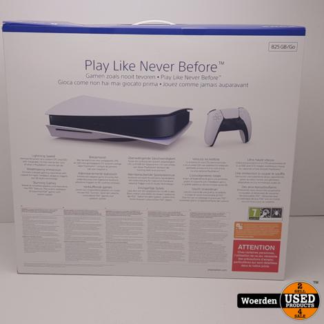 Playstation 5 PS5 Disk Edition NIEUW in DOOS Met Garantie
