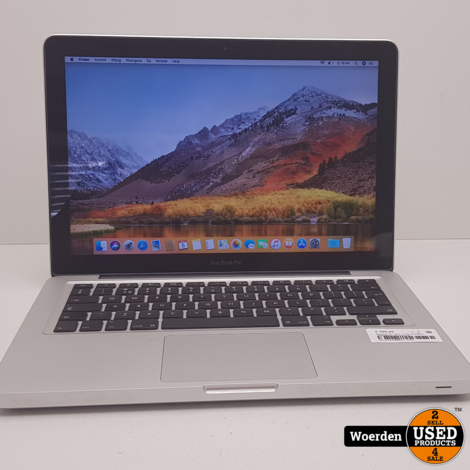 Macbook Pro 2012 13 inch i5 2.5Ghz 4GB 500GB met Garantie