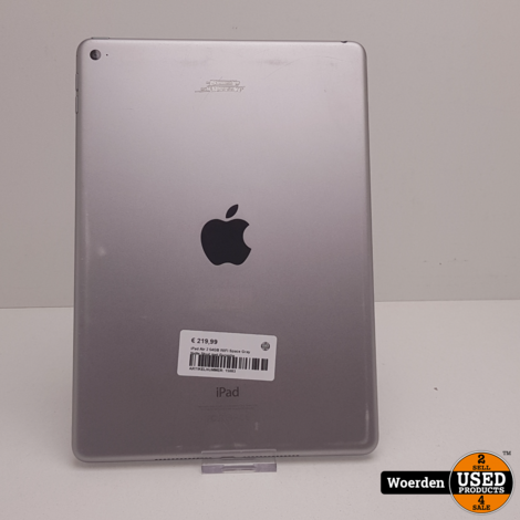 iPad Air 2 64GB WiFi Space Gray Nette Staat met Garantie
