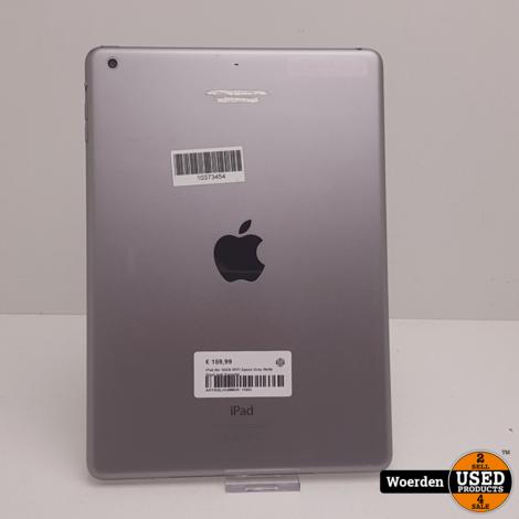 iPad Air 16GB WiFi Space Gray Nette Staat met Garantie