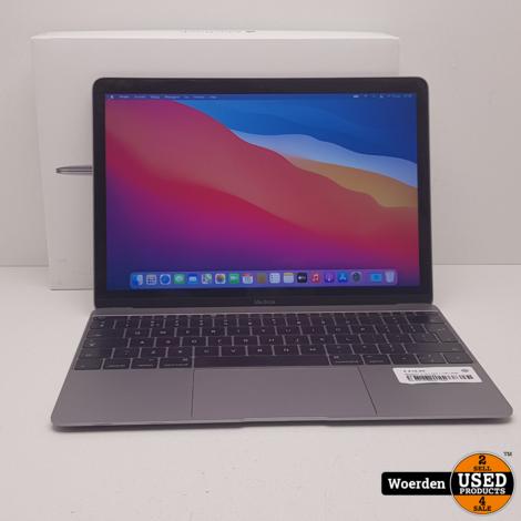 Macbook 12 inch 2016 1.1 M3 | 8GB| 256GB met Garantie