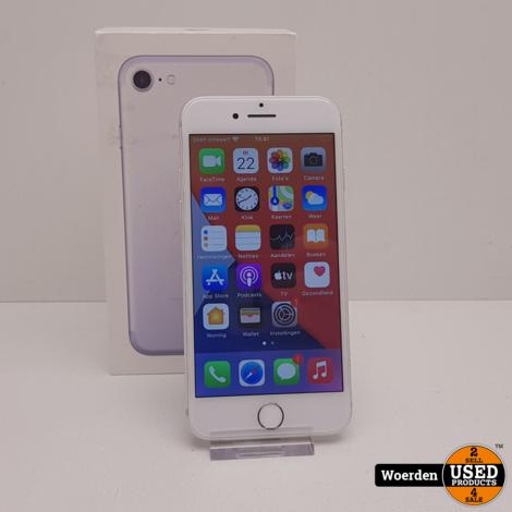 iPhone 7 32GB Zilver NIEUWE ACCU met Garantie