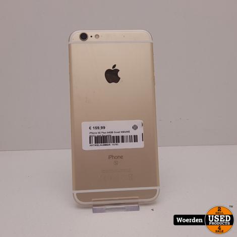 iPhone 6S Plus 64GB Goud NIEUWE ACCU met Garantie