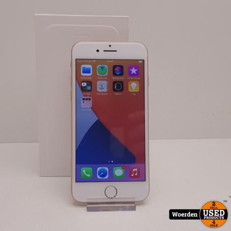 iPhone 8 64GB Goud Touch ID Defect met Garantie