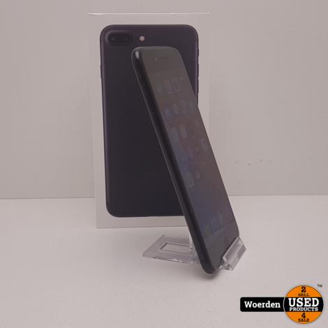 iPhone 7 Plus 128GB Zwart NIEUWE ACCU met Garantie