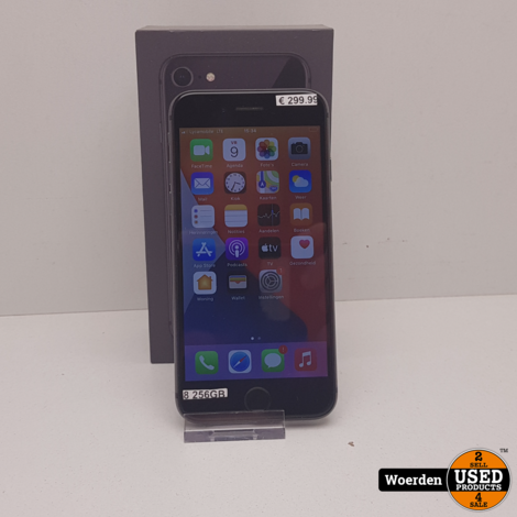 iPhone 8 256GB Space Gray Nette Staat met Garantie