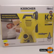 Karcher hogedrukreiniger K2 compact NIEUW in Doos