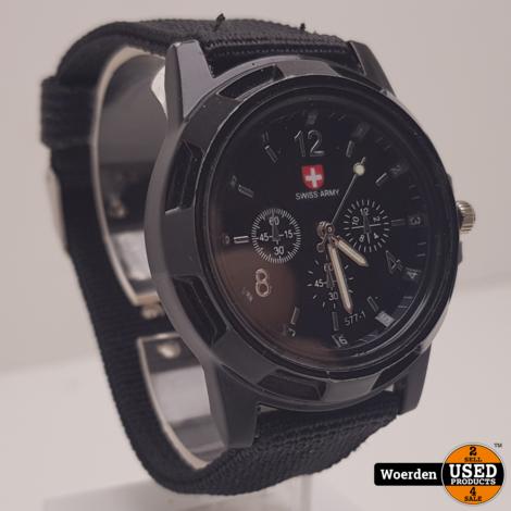 Swiss Army horloge 577-1 Zwart ZGAN met Garantie