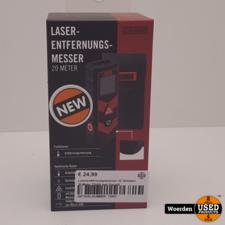 Laserafstandsmeter JC Schwarz 20 Meter NIEUW met Garantie