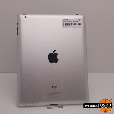 iPad 2 Barst In Scherm met Garantie