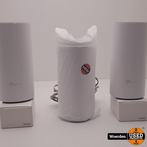 TP-Link Deco E4 Mesh Wifi 2-pack Wit NIEUW in Seal met Garantie