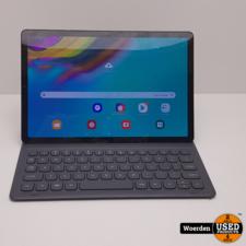 Samsung Galaxy Tab S5E 64GB Zwart incl Toetsenbord case + Barst
