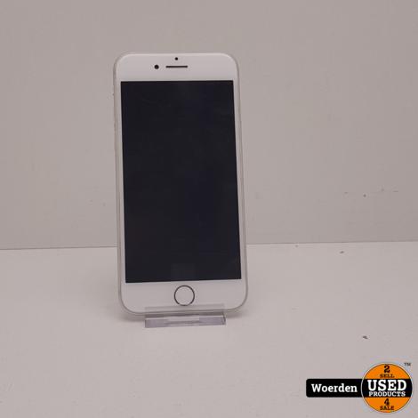 iPhone 8 64GB Zilver Accu 91% met Garantie