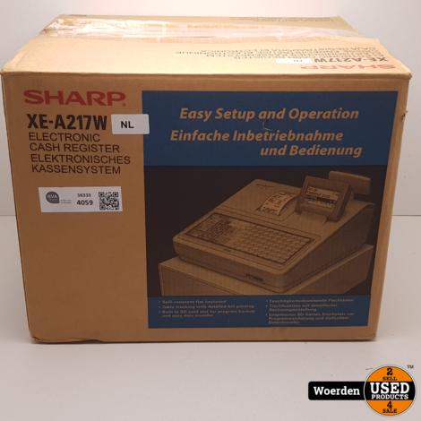 Sharp XE-A217W Thermisch Prnter NIEUW in Doos met Garantie