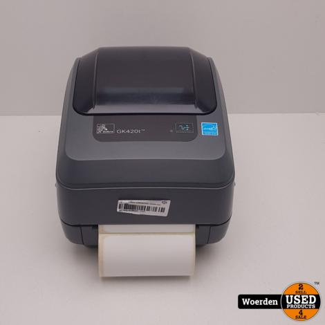 Zebra GK420T Labelprinter ZGAN met garantie