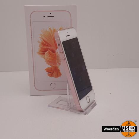 iPhone SE 32GB Rosegoud NIEUWE ACCU met Garantie