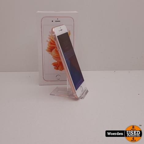 iPhone 6S 32GB RoseGoud Nette Staat met Garantie