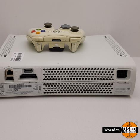 Xbox 360 Wit  incl controller Met Garantie
