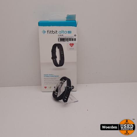 Fitbit Alta HR armband voor hartslag- en fitnessregistratie