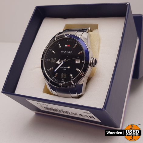 Tommy Hilfiger TH.152.1.14.1077 Horloge Nette Staat met Garantie
