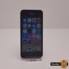 iPhone 5S 16GB Space Grey in Nette Staat met Garantie