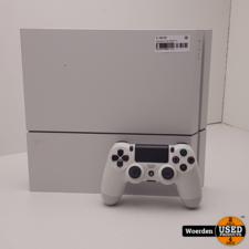 Playstation 4 PS4 500GB Wit Incl Controller met Garantie