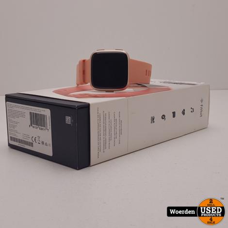 Fitbit Versa Roze ZGAN met Garantie