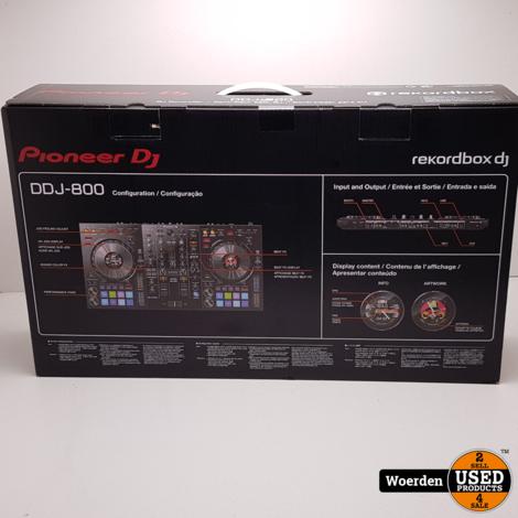 Pioneer DJ DDJ-800 Controller NIEUW IN DOOS met Garantie