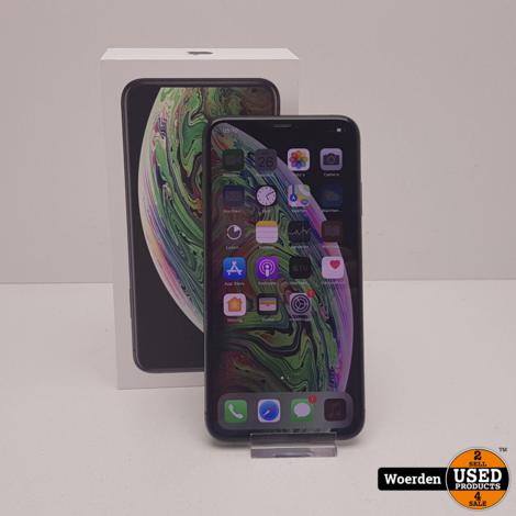 iPhone XS Max 256GB Space Gray Nette Staat met Garantie