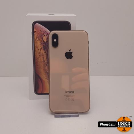 iPhone XS 64GB Goud in Nette Staat met Garantie