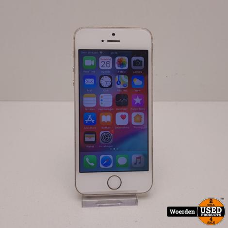 iPhone 5S 64GB Zilver vlekje in rechterhoek met Garantie
