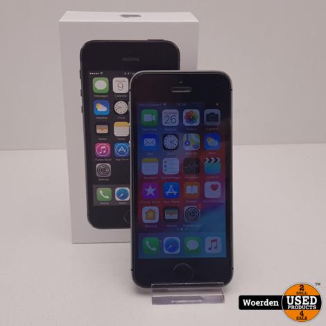 iPhone 5S Space Gray in Nette Staat met Garantie