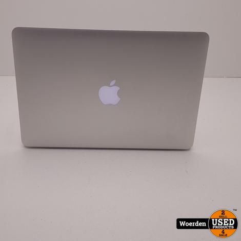 Macbook Pro 2012 13 inch i5 2.5Ghz 4GB 256GBSSD met Garantie