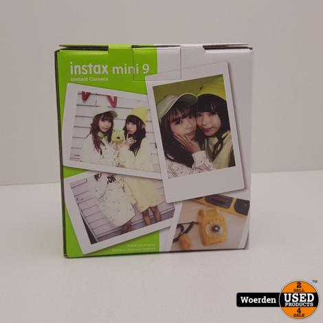Instax Mini 9 Instant Camera NIEUW met Garantie