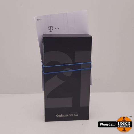 Samsung Galaxy S21 5G 128GB 2 Week Oud + BON met Garantie