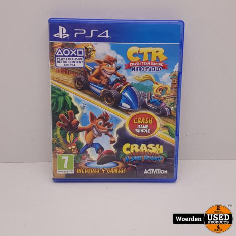 Playstation 4: CTR Nitro Fueled +  Crash Bandicoot NSane Trilogy