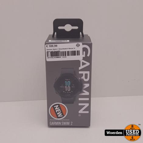 Garmin Swim 2 Smartwatch Nieuw In Seal met Garantie