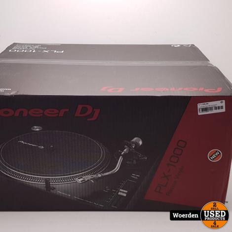 Pioneer PLX-1000 Draaitafel NIEUW In Doos met Garantie