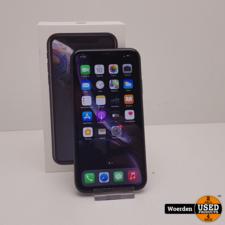 iPhone XR 64GB Zwart Nette Staat met Garantie