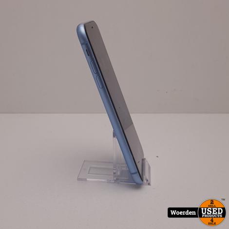 iPhone XR 64GB Blauw Nette Staat met Garantie